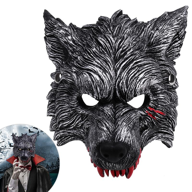 nicexmas wolf mask wolf head mask for halloween costume masquerade cosplaychina - Wolf Halloween