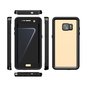 Image 5 - For Samsung Galaxy S7 Edge S7 Waterproof Case IP68 Diving Underwater PC + TPU Armor Cover S725 Shockproof Dirt Snow proof