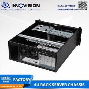 Image 4 - Промышленный компьютер RC530 4Urack mount chassis/4U Серверный корпус для промышленного управления и т. Д.