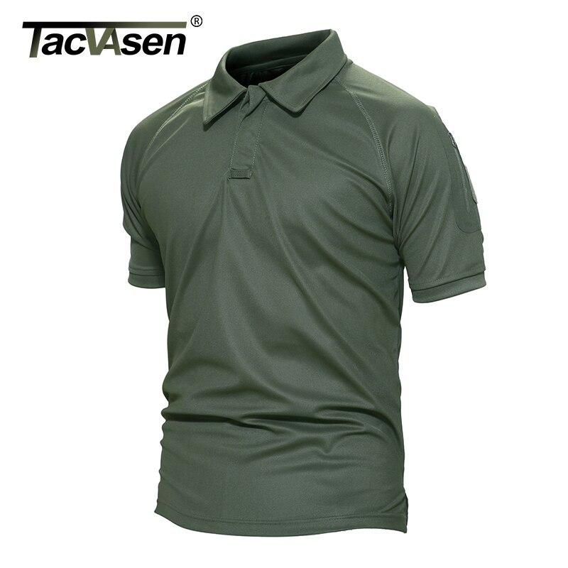 TACVASEN New Summer Army T Shirt Men Military Shirt Men's Tactical Combat T Shirts Breathable Camouflage Tee Shirt TD-YCXL-015