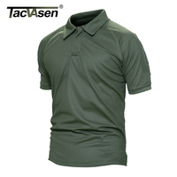 Tacvasen New Army T Shirt Men Military Camouflage Breathable Polo Shirt For Men Tactical Trainning Combat