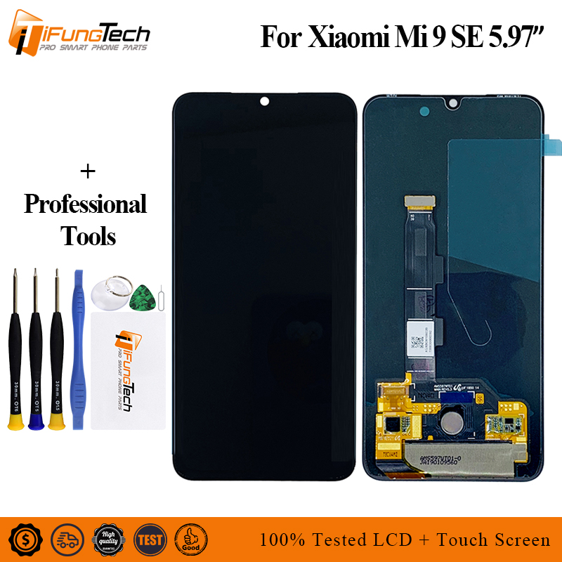 For Xiaomi Mi9 SE LCD For Xiaomi Mi 9 SE LCD Display LCD Screen Touch Digitizer AssemblyFor Xiaomi Mi9 SE LCD For Xiaomi Mi 9 SE LCD Display LCD Screen Touch Digitizer Assembly