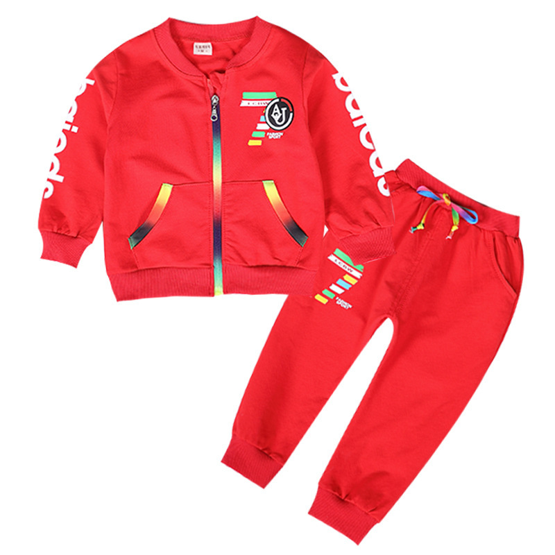 Tracksuit New 2018 girls boys clothes set 3pcs kids girl sport set baby girl clothing sets jacket+t shirt+pants clothing set ...