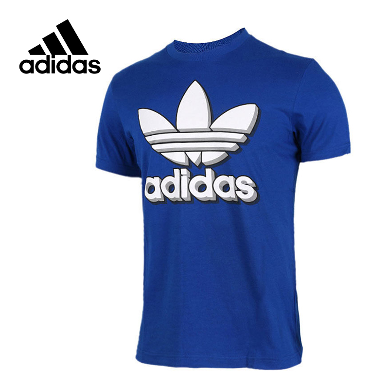 Adidas Original New Arrival Official Originals Men's T-shirts Short Sleeve Sportswear BQ3123 high quality toner powder compatible samsung clp508 printer powder clt 508k clt 508c clt 508m clt 508y