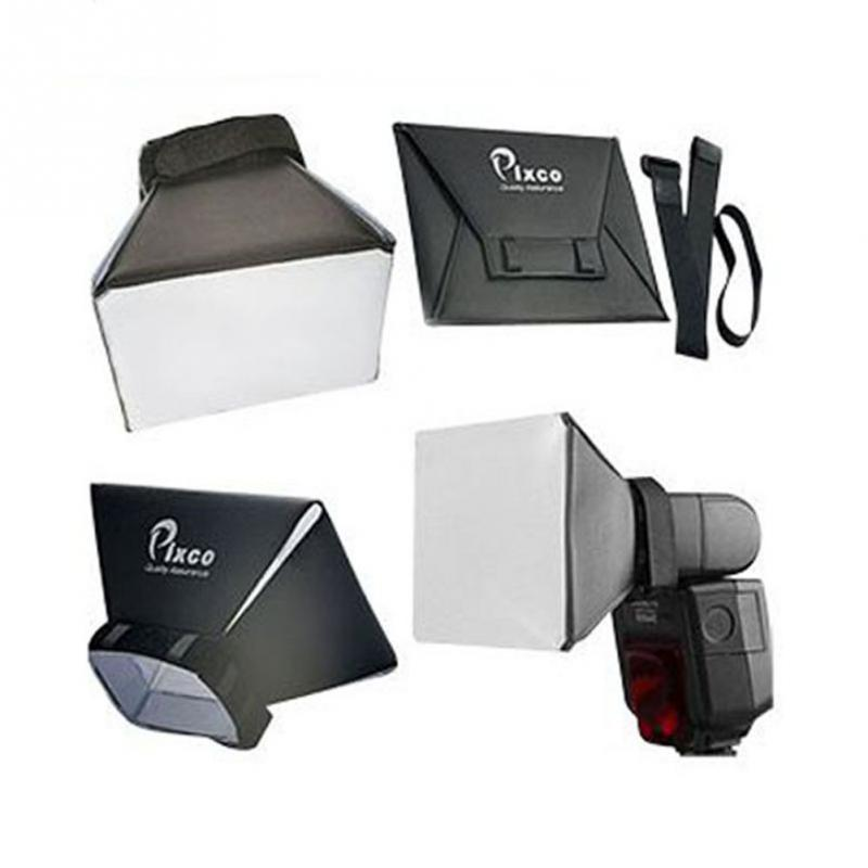 New Portable Omni Bounce Softbox Kit Photography Flash Diffuser for Canon for Nikon for Pentax for Sony DSLR Speedlite Flash & flash diffuser for sony hvl f58am white