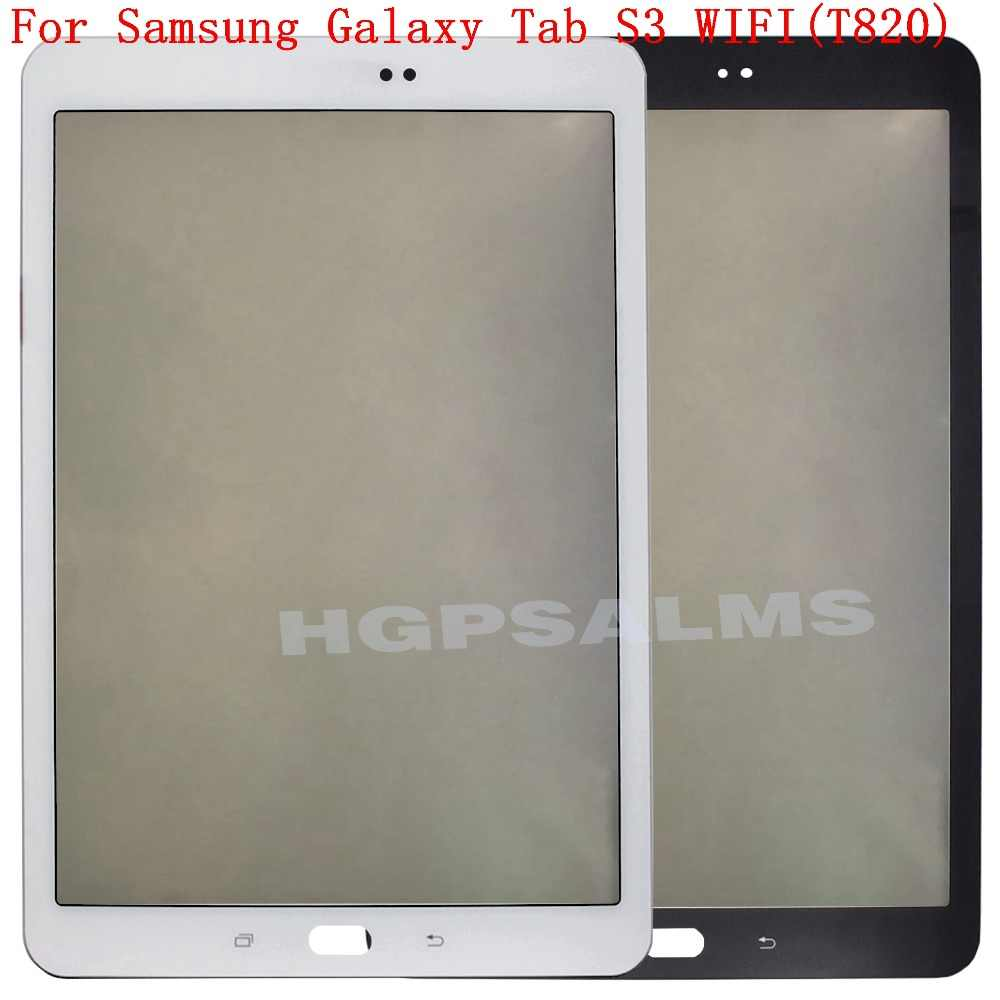 Tablet Touch Panel Voor Samsung Galaxy Tab S3 WIFI (T820) touch Screen Digitizer LCD Glas Outer Lens Vervanging Voor Samsung T820