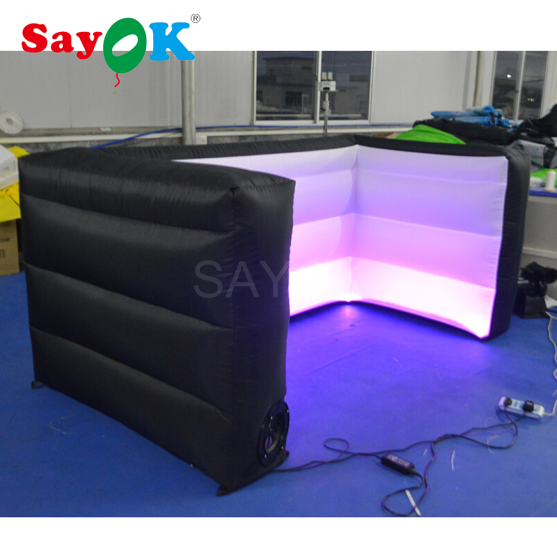 Party led inflatable bar/inflatable bar tent/Inflatable bar counter/led inflatable wall for sale