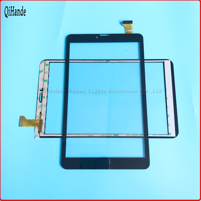 10pcs lot New 8 inch Tablet Digitizer YJ350FPC V0 FHX Sensor Touch screen panel Glass YJ350FPC