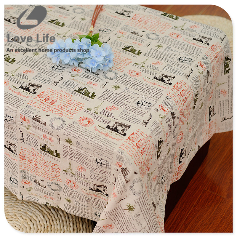 newspaper pattern table covers tablecloth linen table covers for table thicken table cloth tafelkleed cheap tablecloths