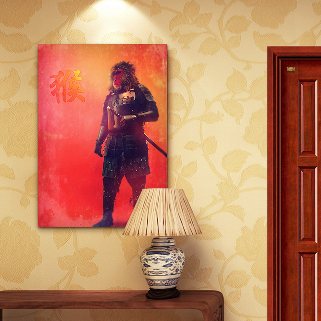 Luxury Monkey Canvas Wall Art Images - Wall Art Collections ...