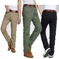 Cargo Pants Midweight Regular Direct Selling Hot Sale 2015 Mens Military Cotton Pantalones Hombre Casual Chinos For Men 801