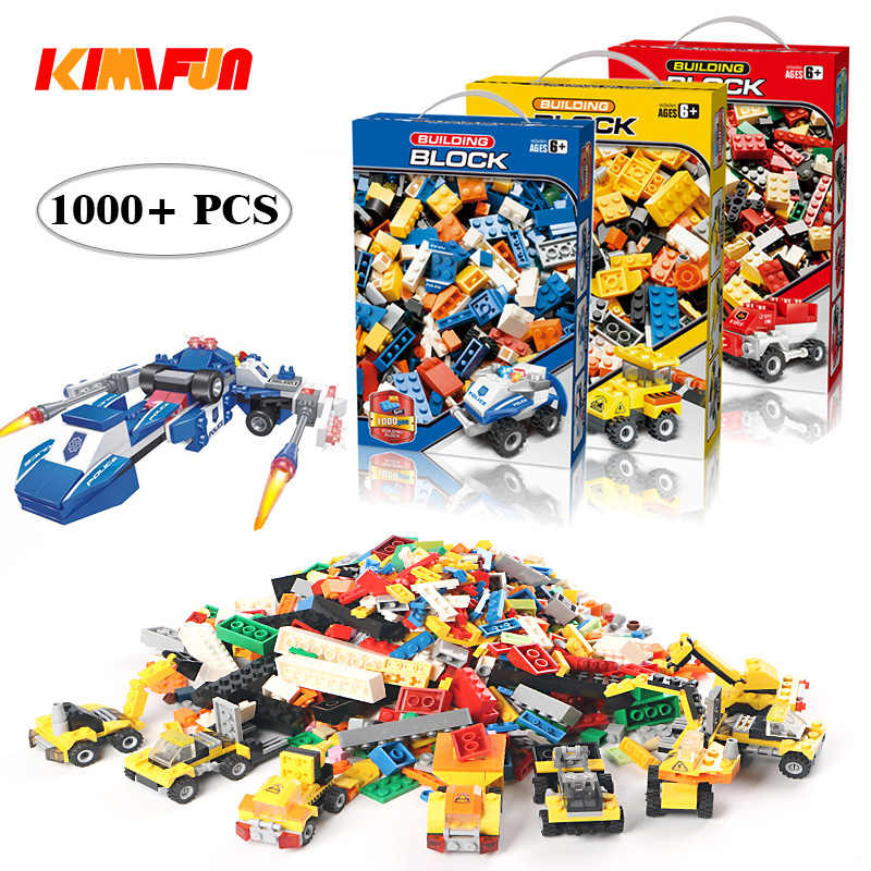 1000pcs Bricks DIY Designer Creative Classic Brick Building Blocks Kit Toys Children Educational Gift Compatible