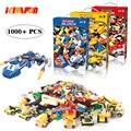Набор классических кирпичей для самостоятельного изготовления  1000 шт.  обучающие игрушки для детей