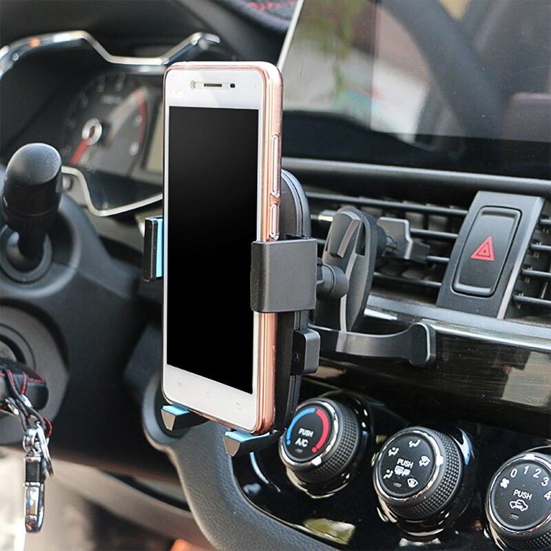 Voiture Support de Téléphone Pour Smartphone 3.5-6 pouce Pour Toyota Corolla Avensis Yaris Rav4 Auris Hilux Prius Prado Camry celica Fortuner