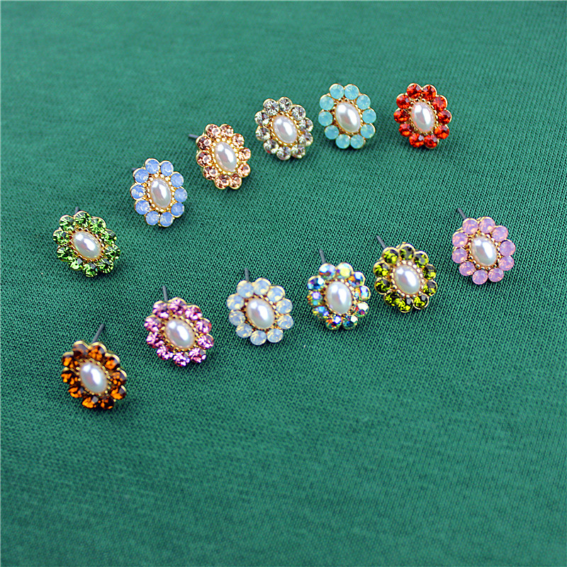 Hot new popular female jewelry wholesale, girls birthday party, all kinds of beautiful earrings, earrings, free shipping
