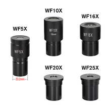 Microscope-Lens Monocular-Part Eyepieces WF5X OSEELANG WF10X Wide-Angle-Lens Biological