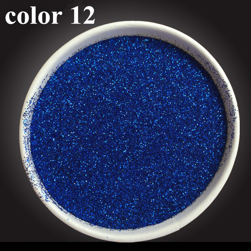 Color 12 Glitter  Fine Bright Electroplating Materials Pearl Powder Pigment Paint Coating Automotive Coatings Ceramic Art Crafts