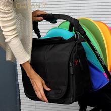 Colorland duża organizator na pieluchy pieluchy torby do wózka dla mam moda pieluszka dla niemowląt torby do wózka dla dzieci torba do wózka Bolsos Maternales tanie tanio COLOR LAND Poliester Torby kurierskie zipper (30 cm Max Długość 50 cm) Stałe CLD-CB211 36cm 40cm 1 16kg 17cm