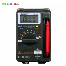 AUTOOL DM mini DMM Integrated Personal Handheld Pocket Mini Digital Multimeter Ammeter Auto Range Tester Same as VC921