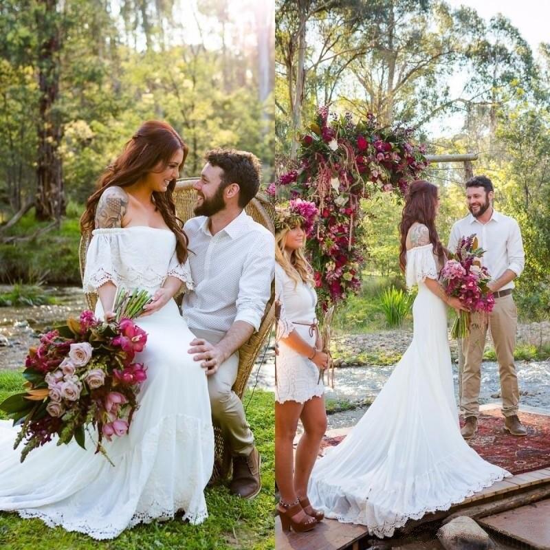 Online Get Cheap Simple Fall Wedding Dresses -Aliexpress