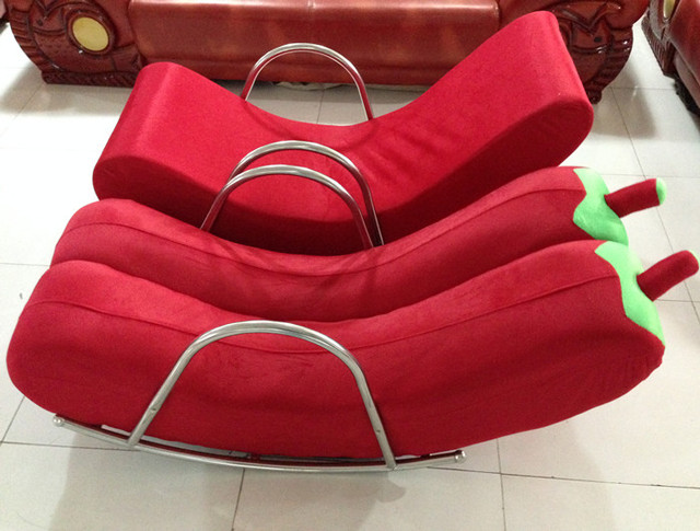 Exceptionnel Cheap Rocking Chair Recliner Happy Banana Beanbag Single Couches  Personality Small