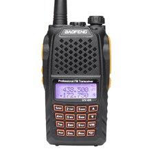 New Baofeng UV-6R Handheld Walkie Talkie 5W Radio UHF VHF UV Dual Band Waterproof  UV-9R Two Way Radio Interphone HF Transceiver
