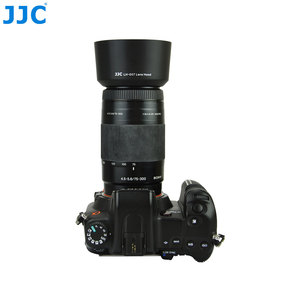 Image 1 - JJC Lens Hood Tube for SONY 75 300mm f/4.5 5.6 & 100mm f/2.8 Lens replaces ALC SH0007