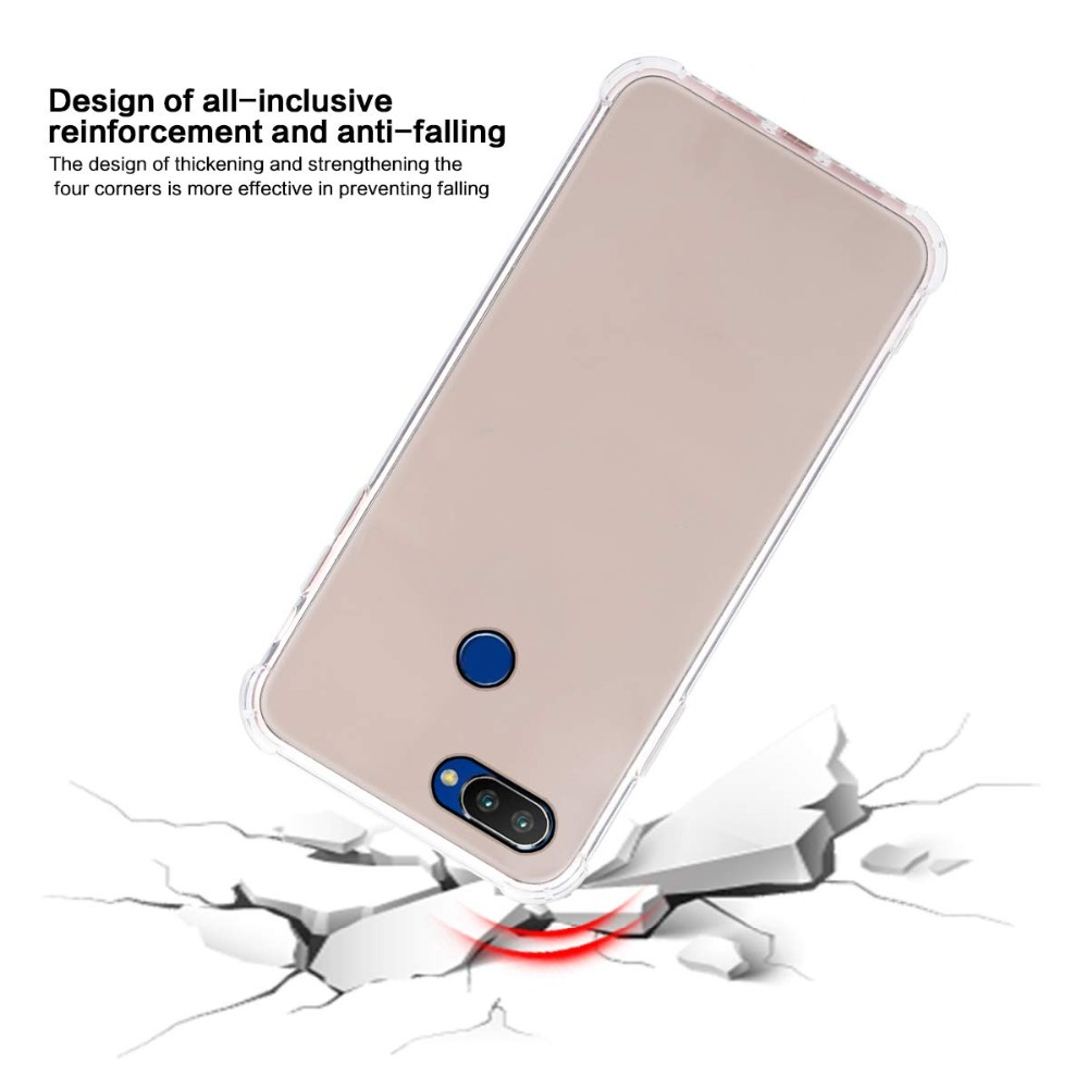 OPPO Realme 2 pro Case Cover OPPO Realme 2 ultra thin Clear Transparent TPU back case for OPPO Relame 1 C1 Full Cover Back cover (10)