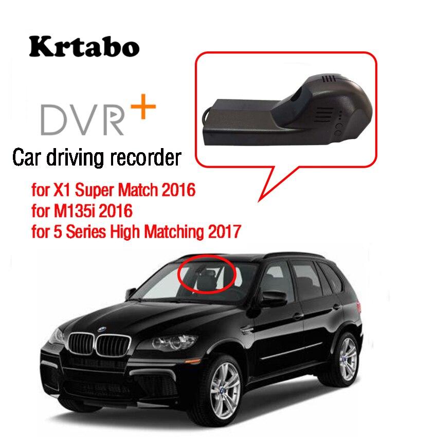 Enregistreur vidéo de conduite de caméra de tableau de bord de WiFi DVR d'enregistrement de voiture pour BMW X5 élevé avec la vision nocturne 2017 CCD de haute qualité