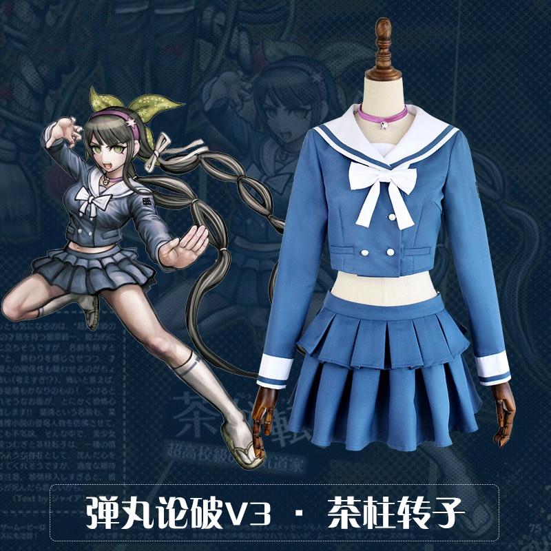 New Danganronpa V3 Chabashira Tenko Cosplay costume