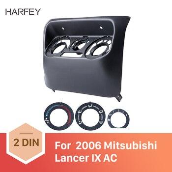 Harfey qualidade Superior Painel Quadro Painel de Bordo para Mitsubishi Lancer IX 2006 In Dash melhor Fáscia Acessórios de Controle AC