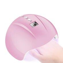 מקצועי UV נייל מנורת 24W ג ל לק מייבש LED ריפוי אור LED מנורה