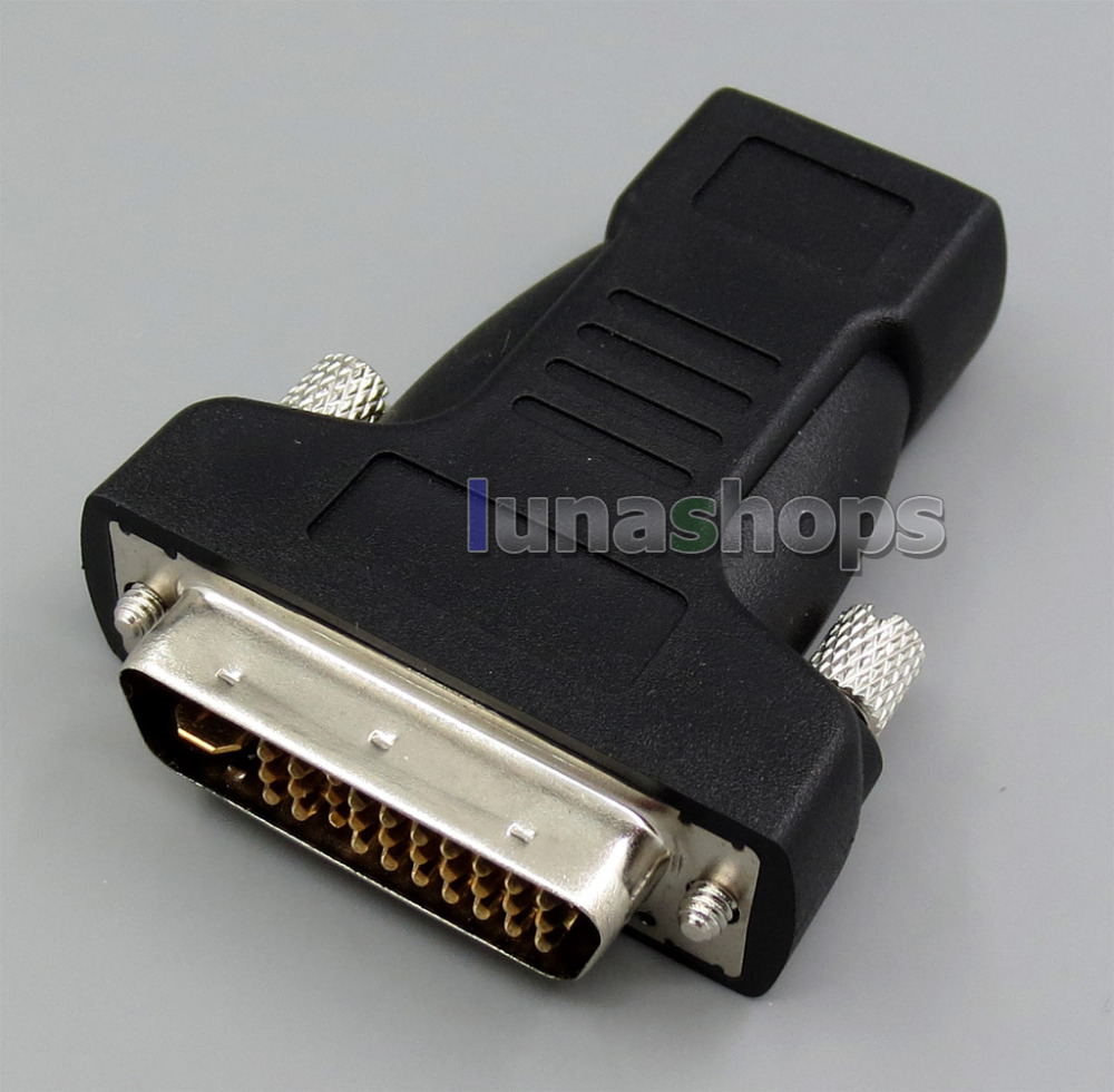 ФОТО Original HDMI Female To M1(P&A) DVI 30+5 M1-DA Video Audio converter adapter For HP Infocus Optoma Projector LN005296
