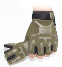 Hotting Men Wear M-Pact Tactical Glove Airsoft Shooting Outdoor Motor Bicycle Half Finger Mittens
