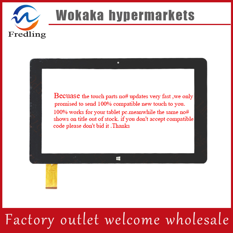 Original 10.1 inch Tablet PC FPC-106001B Capacitive Touch screen panel For CUBE i10 Digitizer Glass Sensor Free Shipping original new 8 inch ntp080cm112104 capacitive touch screen digitizer panel for tablet pc touch screen panels free shipping