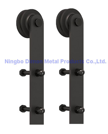 dimon customized sliding door hardware wood sliding door hardware hanging wheel america style sliding door hardware