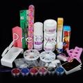 Professional Acrylic Powder Nail Art Kit Salon Manicure Acrylic Liquid Glitter Buffer Oil Pen Rhinestone Brush Nail Tools Sets