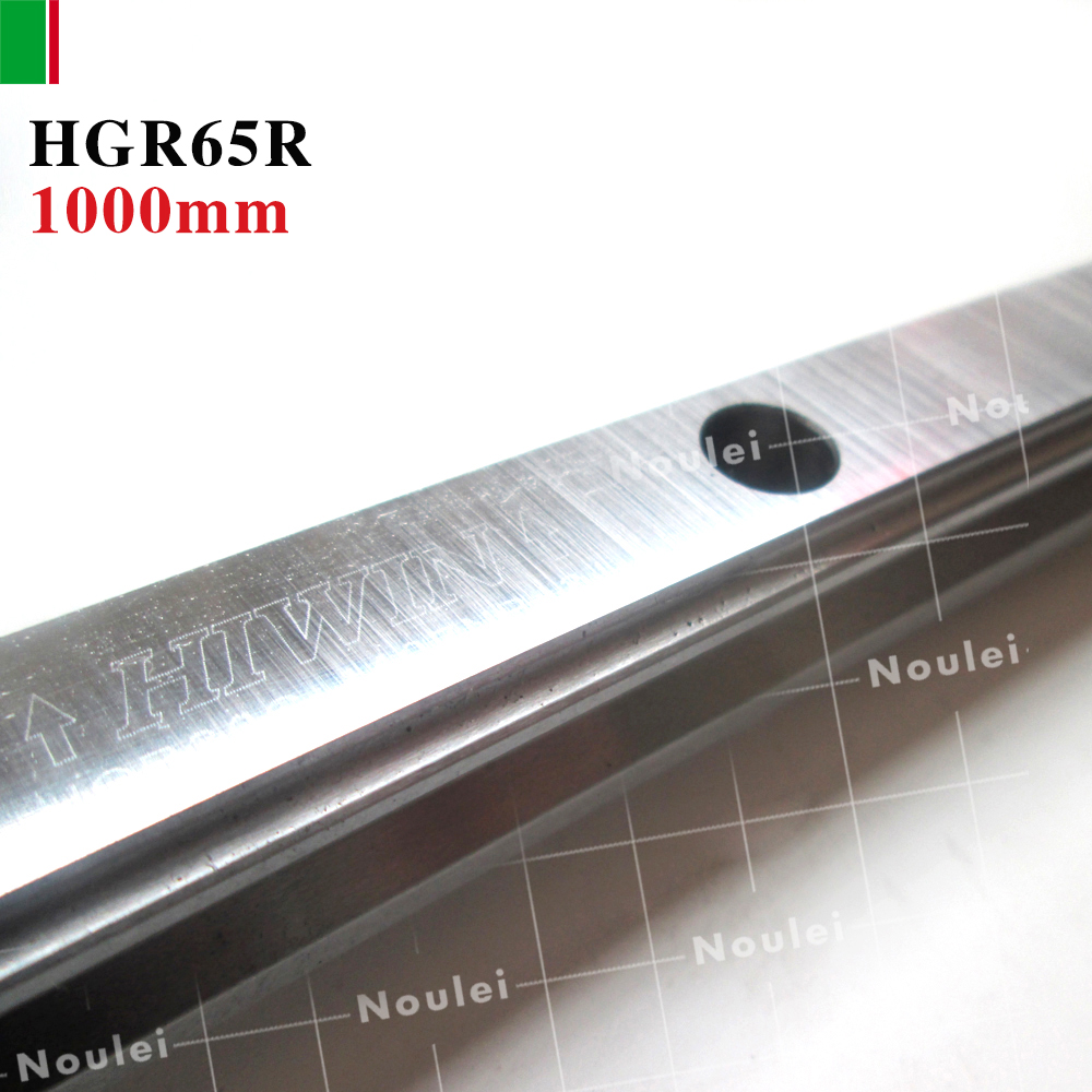 HIWIN HGR65 linear guide rail 1000mm for slider HGW65 / HGH65 High efficiency CNC parts large format printer spare parts wit color mutoh lecai locor xenons block slider qeh20ca linear guide slider 1pc