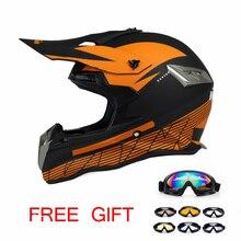 Envío Libre casco capacetes casco de la motocicleta atv dirt bike cross también es adecuado para los niños cascos de motocross casco
