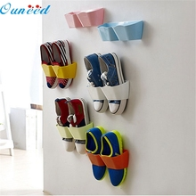 Home Wider Ouneed  2015 New Creative Plastic Shoe Shelf Stand Cabinet Display Shelf Organizer Wall Rack 922 Drop Shipping