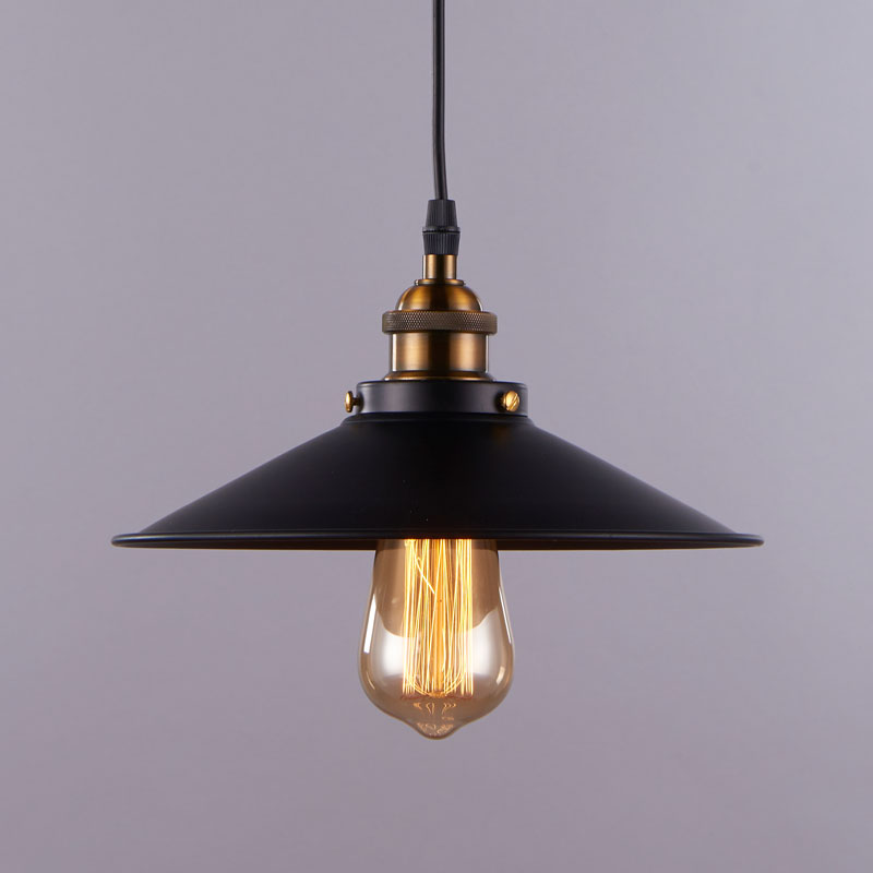 buy industrial pendant light american retro loft living room cafe bar decor. Black Bedroom Furniture Sets. Home Design Ideas