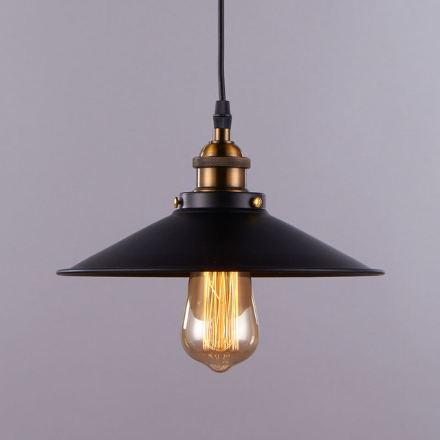 Buy industrial pendant light american for Luminaire exterieur retro