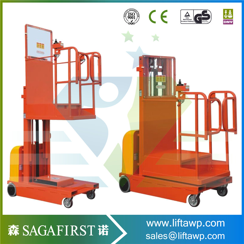 High Efficiency Self Propelled Platform Order Picker