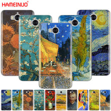 HAMEINUO Renaissance Van Gogh oil painting cell phone Cover Case for huawei honor 3C 4X 4C 5C 5X 6 7 Y3 Y6 Y5 2 II Y560 2017(China)