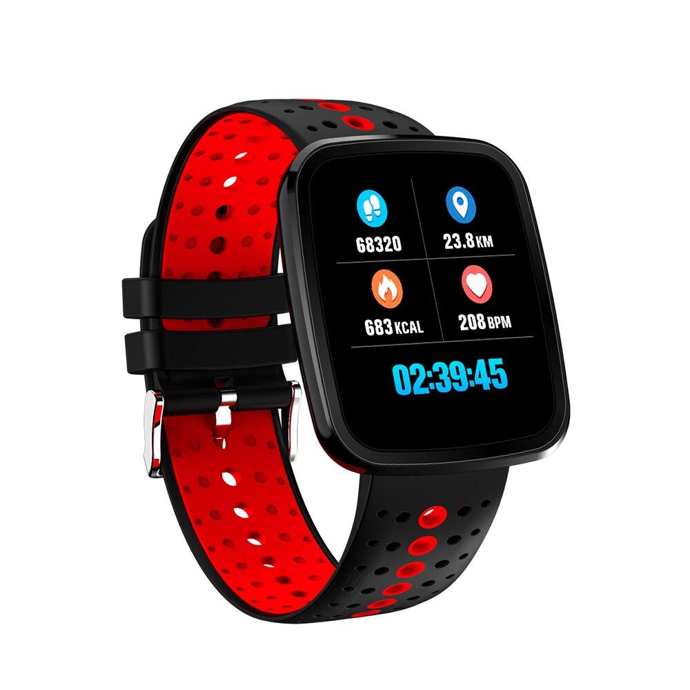 Smart Watch Color Screen Smart Wristband Fitness Tracker Heart Rate Blood Pressure Waterproof Bluetooth Watch Smart Smartwatch