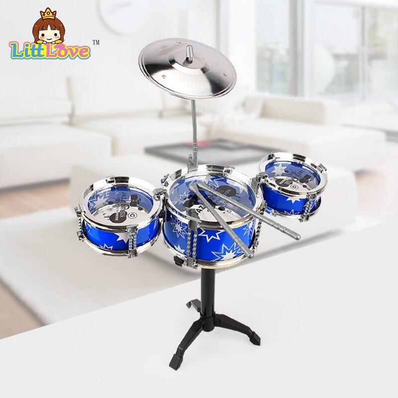 LittLove Kinder Jazz Drum Set Musikinstrument Spielzeug Spielset mit - Lernen und Bildung - Foto 2