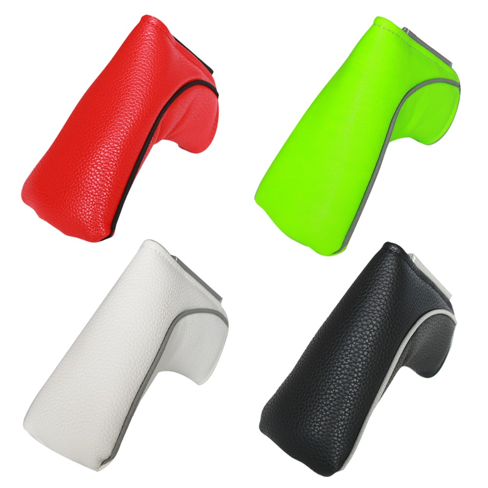Golf Putter Head Cover Headcover Golf Putter Cover White Magnetic Golf Putter Cover Blade Headcover Free Shipping