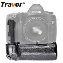 Travor Батарейный держатель для камеры Canon EOS 6D DSLR Замена BG-E13 Батарейная ручка работа с LP-E6 батареей