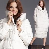 Новые зимние женские пальто женская теплая одежда Европа женские пуховик для беременных верхняя одежда пальто белая утка вниз 991