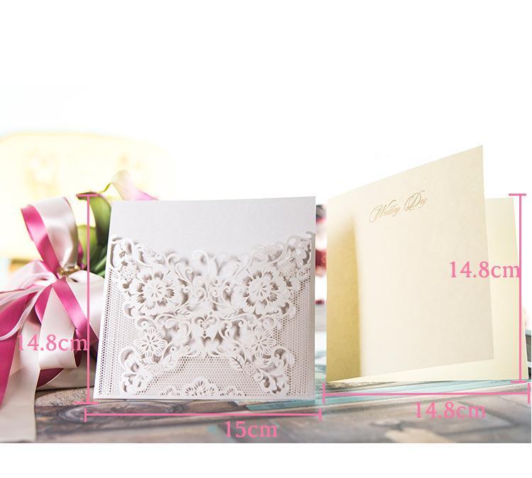 30 Sztukzestaw Karta Zaproszenie Na ślub Małżeństwo Urodziny